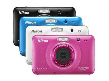 Камера Nikon COOLPIX S30 не боится пыли, воды и ударов