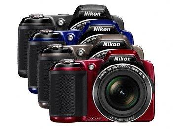 Камера Nikon COOLPIX L810 работает от обычных элементов AA