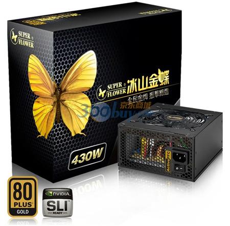 ���� ������� Super Flower ��������� 430 �� ����� ���������� 80Plus Gold