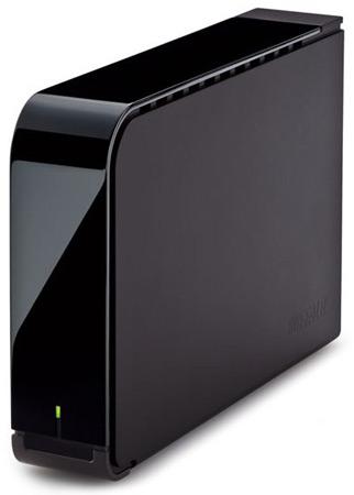 Внешний накопитель Buffalo DriveStation HD-LS1.5U2J объемом 1,5 ТБ может записывать телепрограммы