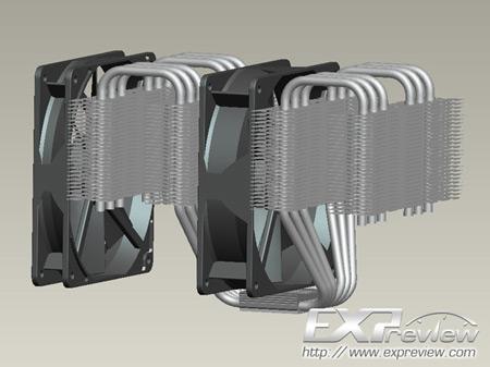 Prolimatech экспериментирует с охладителями для процессоров в исполнении LGA2011
