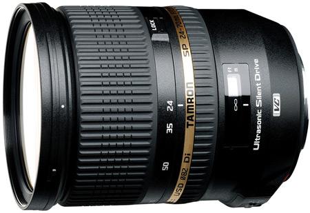 Tamron анонсирует полнокадровый объектив SP 24-70mm F/2.8 Di VC USD
