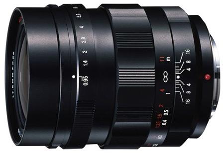 Представлен объектив Voigtländer Nokton 17.5mm F0.95 для камер системы Micro Four Thirds