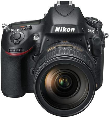 Представлены камеры Nikon D800 и D800E