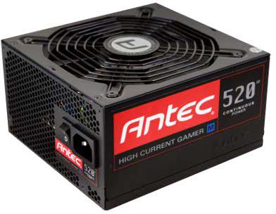 В серию блоков питания Antec High Current Gamer M вошли модели мощностью 400, 520 и 620 Вт