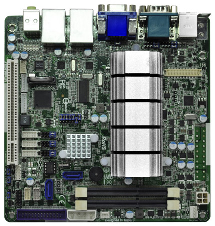 Каталог ASRock пополнили платы IMB-140, IMB-141 и IMB-142 типоразмера Mini-ITX с процессорами Intel Atom D2700