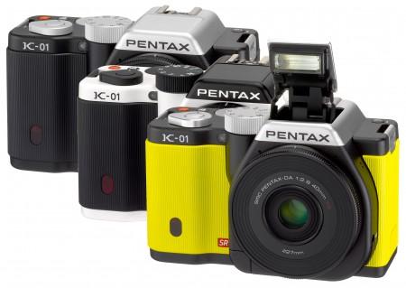 Беззеркальная камера Pentax K-01