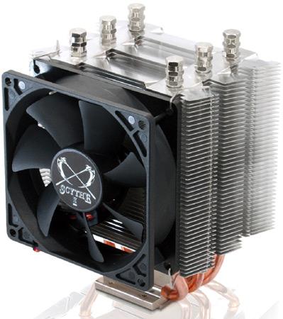 Scythe представит процессорный охладитель Katana 4 на выставке CeBIT 2012