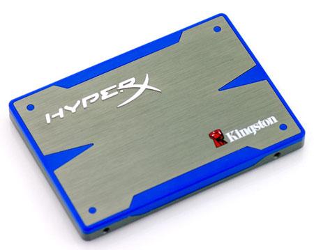 Накопители Kingston HyperX SSD развивают скорость чтения 555 МБ/с