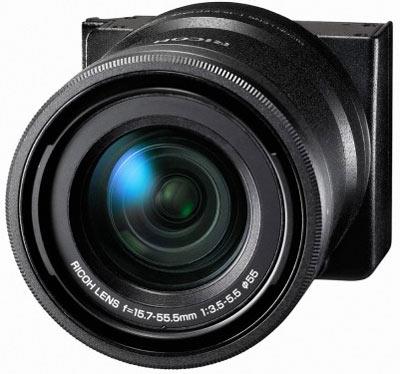 В модуле RICOH LENS A16 24-85mm F3.5-5.5 для камеры GXR используется датчик формата APS-C