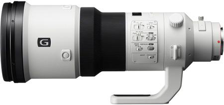 Sony обещает начать продажи объектива SAL500F40G с фокусным расстоянием 500 мм в конце марта