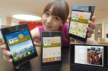 Пятидюймовый смартфон LG Optimus Vu представлен официально