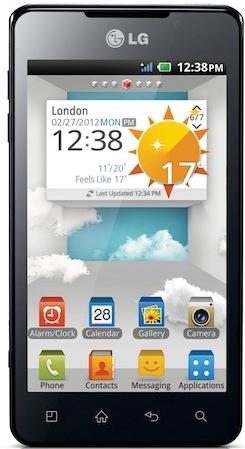 Стереоскопический смартфон LG Optimus 3D Max будет представлен на Mobile World Congress 2012