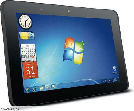 MWC 2012: представлены планшеты ViewSonic ViewPad G70, E100 и P100