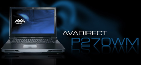 AVADirect Clevo P270WM