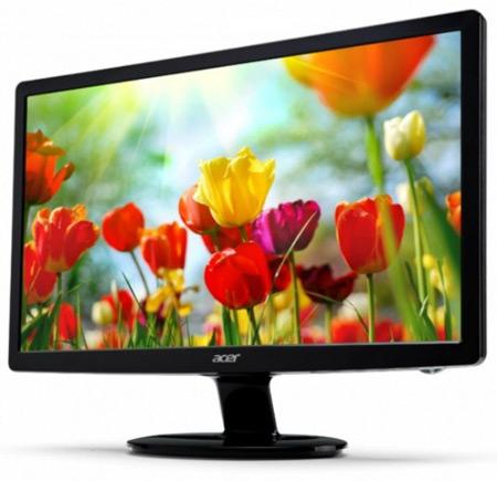 Разрешение 27-дюймового монитора Acer S271HL равно 1920 х 1080 пикселей