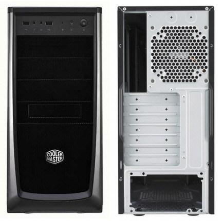 В недорогом корпусе Cooler Master Elite 372 можно установить семь вентиляторов