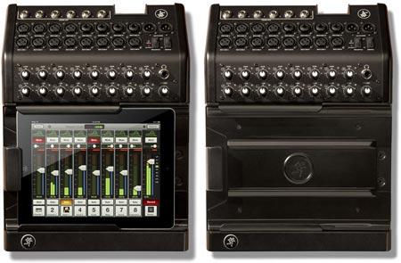 16-канальный микшер Mackie DL1608 рассчитан на интеграцию с iPad