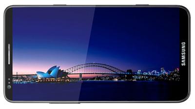 Характерная черта Samsung Galaxy S III  - безрамочный экран