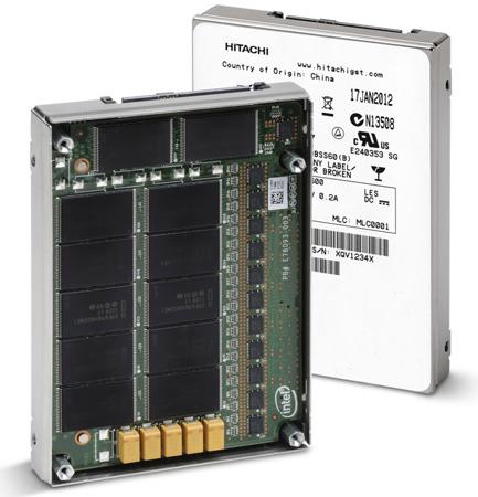 Hitachi GST первой начинает поставки корпоративных SSD на базе 25-нанометровой памяти SLC NAND - Ultrastar SSD400S