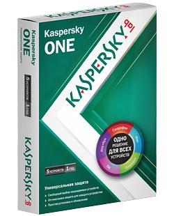 Универсальный защитный продукт Kaspersky ONE