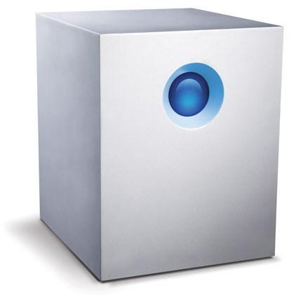 Максимальный объем хранилищ с сетевым подключением LaCie 5big Office достигает 10 ТБ