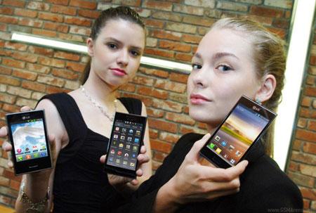 LG анонсировала три смартфона серии Optimus L
