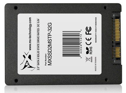 Mach Xtreme Technology включает в серию SSD MX-STARTER PREMIUM модели объемом 32, 64 и 128 ГБ