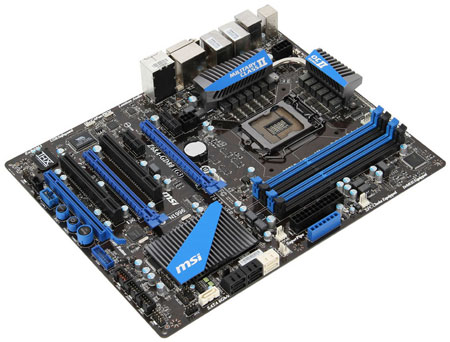 Платы MSI на чипсетах Intel Z68 и H61 будут поддерживать 22-нанометровые процессоры Intel