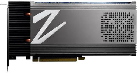 Твердотельный накопитель OCZ Z-Drive R4 CloudServ объемом 16 ТБ устанавливается в слот PCI Express