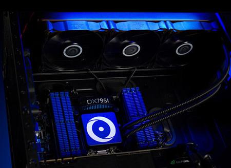 Frostbyte 360 доступна в составе собираемых на заказ компьютеров Origin PC Genesis