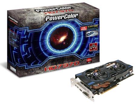 PowerColor выпускает 3D-карту Radeon HD 7970 с системой охлаждения с двумя вентиляторами