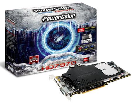 Первая 3D-карта Radeon HD 7970 с жидкостным охлаждением представлена официально