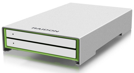 RAIDON анонсирует серию гибридных накопителей HyBrid Drive Runner