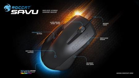 Игровая мышь ROCCAT Savu