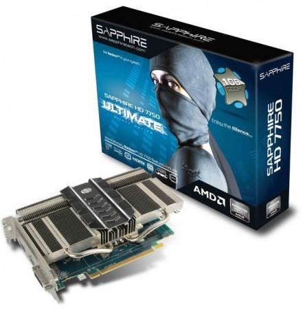 Видеокарта SAPPHIRE HD 7750 ULTIMATE