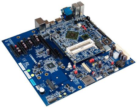 VIA использует в модуле COM Express VIA COMe-8X90 процессор VIA Nano X2 E