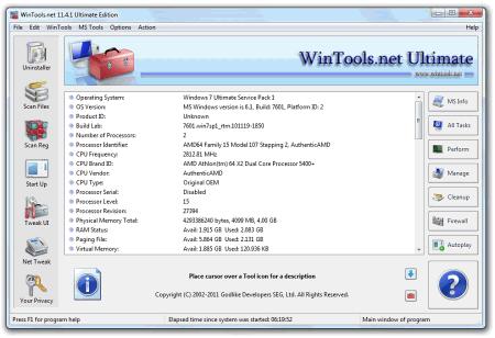 ��������� WinTools.net Ultimate
