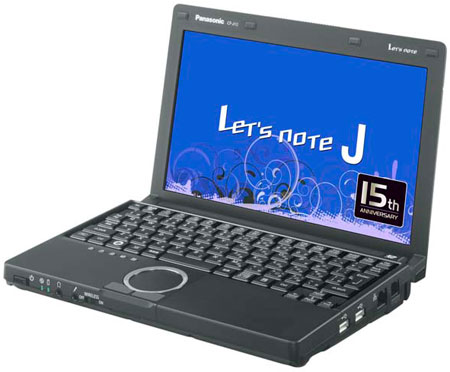 Panasonic Let's Note J10