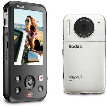 Камера Kodak PlayFull Dual Camera одним нажатием кнопки позволяет опубликовать отснятые материалы в социальных сетях