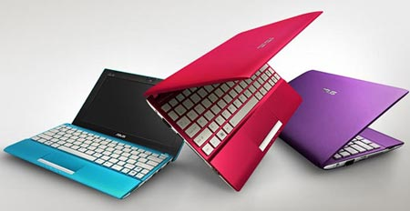 В линейку ASUS EeePC Flare войдут мини-ноутбуки с экранами размером 10 и 12 дюймов