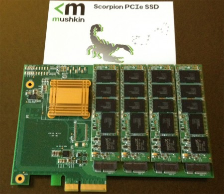 SSD Mushkin Scorpion