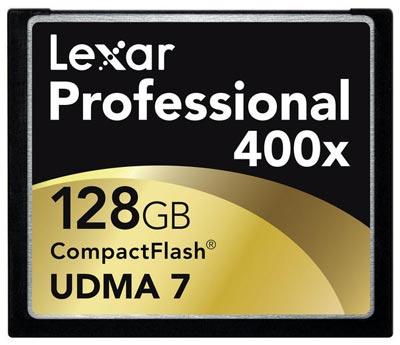 Lexar ������ ������������ ����� ������ CompactFlash ������� 256 ��