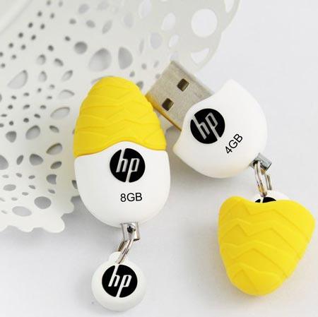 Для «флэшки» HP v270w дизайнеры выбрали необычную форму
