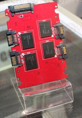 CES 2012: RunCore показала SSD на одной микросхеме