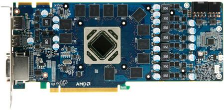 Фото дня: печатная плата недорогих вариантов Radeon HD 7950 и HD 7970 в исполнении Yeston