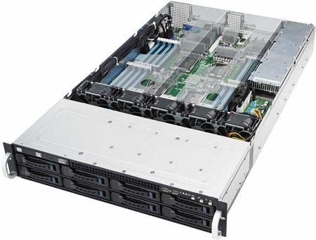 ASUS RS924A-E6 � ������ � ���� ��������� ��������� ��������� 2U � ���������� ������� CPU AMD � ���� GPU