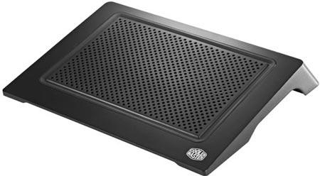 Подставка Cooler Master NotePal D-Lite подходит для ноутбуков с экраном размером до 15,6 дюйма