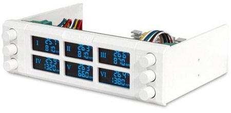 Контроллер вентиляторов Reeven RFC-01 имеет шесть каналов