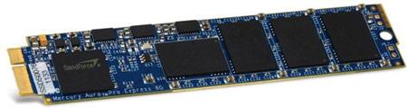 OWC предлагает владельцам Macbook Air твердотельные накопители Mercury Aura Pro Express 6G объемом 480 ГБ